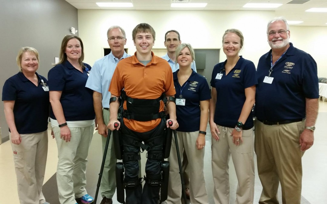 Innovative ReWalk Program Now Offered by Mercer Health Rehabilitation Services, provided by Community Sports and Therapy Center