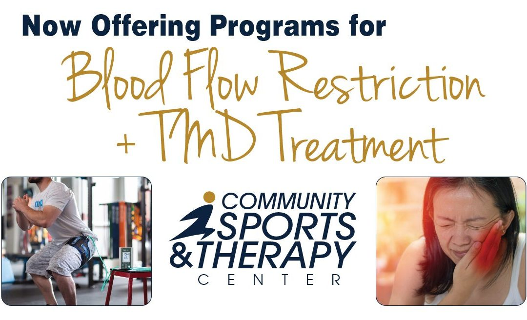 CSTC Introduces New Blood Flow Restriction and TMD Treatment Programs