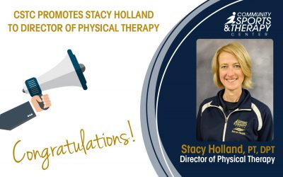 CSTC Promotes Stacy Holland to Director of Physical Therapy